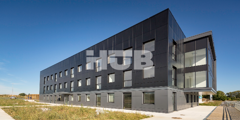Business service centre in the business park u cle havre plateau